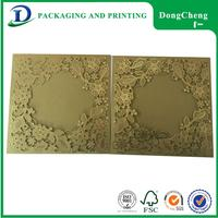 Top selling wedding invitation price visiting models aluminum card case