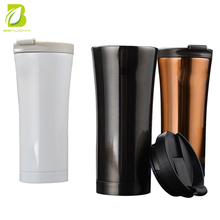 new leak-proof stainless steel starbucks coffee mug doouble wall vacuum car copper mug for promotion gifts