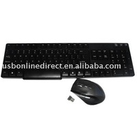 2.4GHz wireless ultra-thin keyboard mouse combos
