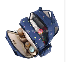 canvas or customzied,Polyester Material hot sale baby diaper bag Travel Mummy Bag baby