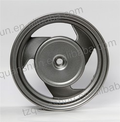 Aluminum Wheel For Gas Motorcycle 10x2.5inch