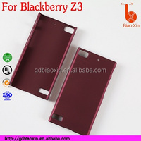 dustproof shockproof rubber phone case for blackberry z3