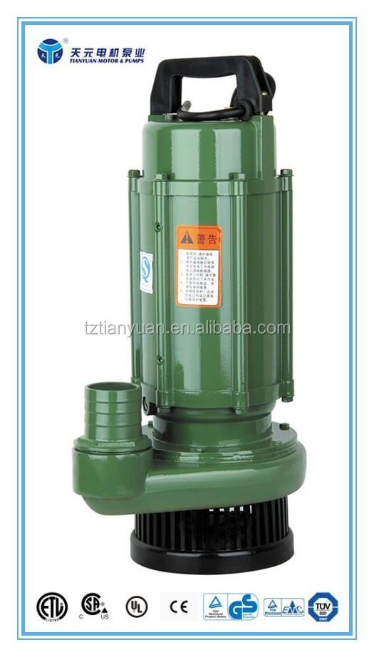 QDXY/QXY series 15hp submersible pump