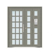 2017 New design security plain steel door