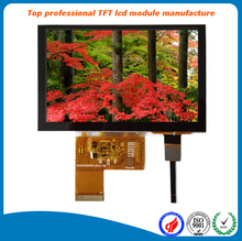 "24bit RGB 800*480 5"" inch tft lcd panel capacitive touch screen supported"