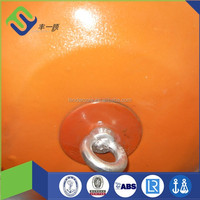 Marine mooring buoy polyurethane boat foam filled fender with CCS certification