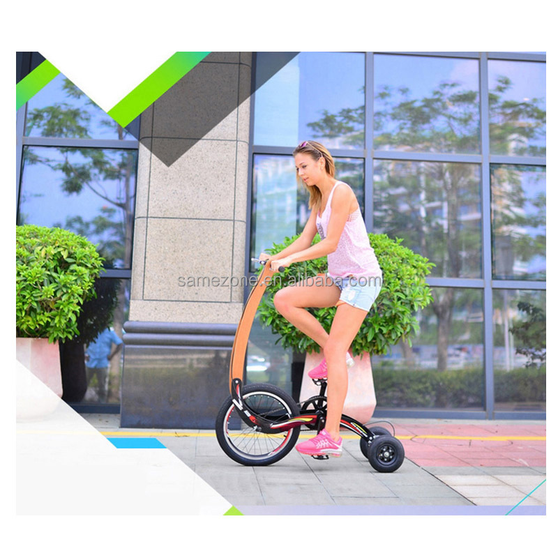 3 wheel exercise bmx <strong>bike</strong>,half <strong>bike</strong> tricycle balance gas scooter