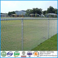 Galvanized 1 inch chain link fence wire