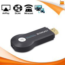 support DLNA Airplay Miracast Output 1080p Full TV Video OTA for Mobile Tablet PC TV Dongle
