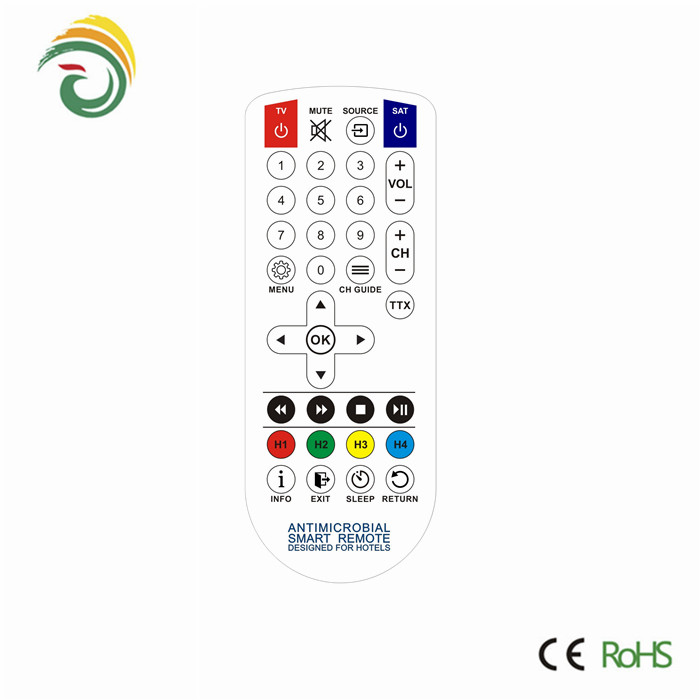 New rubber best quality infrared remote control for videocon tv