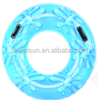 Summer Pool Float 106cm giant Inflatable drops tube/ swim ring