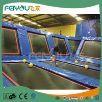 Feiyou Kids Custom Attraction Indoor Sports Jumping Trampoline Park For Sale