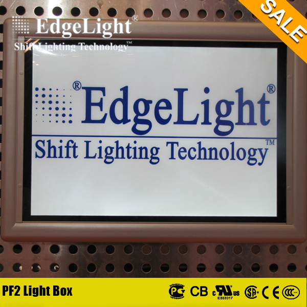 Edgelight New products advertising backlit led box frame picture with led light source for light box