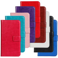 Crazy Horse Skin PU Leather Phone Case Cover For Nokia Lumia 520