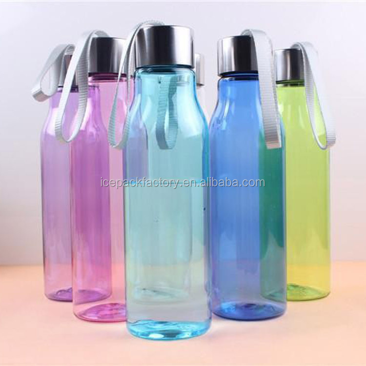 PC Material portable drinking bottle/juice bottle for running&camping,550ml