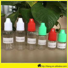 China manufacturer small mini palstic bottle containers/Clear plastic dropper e liquid PET 5ml plastic bottle from factory