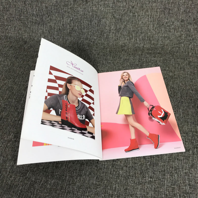 New product 2017 catalog printing hot sale p66 coated paper personal design book printing