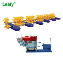 South America Shrimp Prawn Pond Diesel Engine Paddle Wheel Aerator
