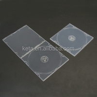 5.2MM Super Slim Single Clear Short Plastic CD Case