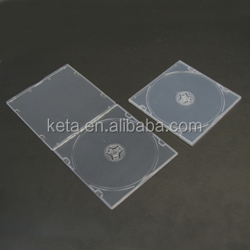 High Quality 5.2mm Super Slim Single Clear PP CD DVD Case