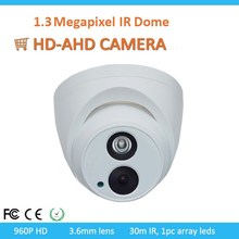 Promotion 1.3MP Star-light Sony Senor Dome Indoor AHD Camera With 30m IR