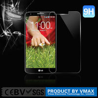 9H 0.33mm Shatterproof For LG G2 tempered glass screen protector