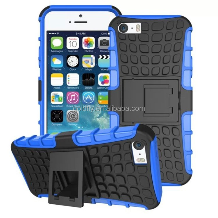 Hot Hybrid Holster Stand Case For iPhone 6 6s 4.7inch Mobile Phone Bag Back Cover 3&1 Transformers Style