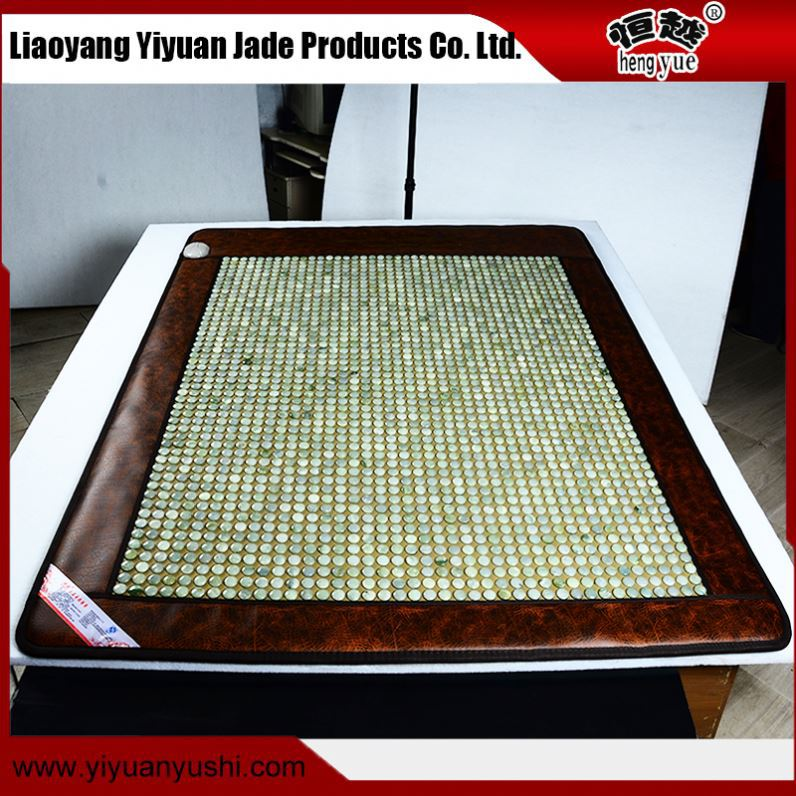 Super value nature rejuvenate aging king size mattresses relaxing back support jade mat / pad/ mattress