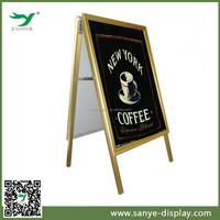 popular signwalk board picture frame double side