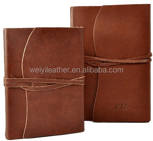a4 a5 Genuine Vintage Leather Notebook, Retro Binding Book