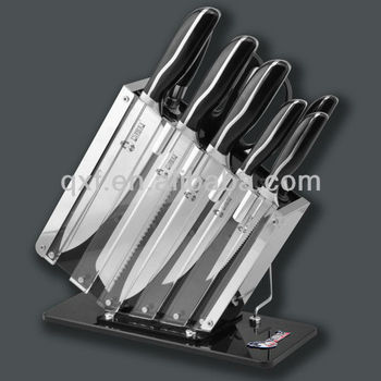 ergonomic handle stainless steel kitchen knife sets view