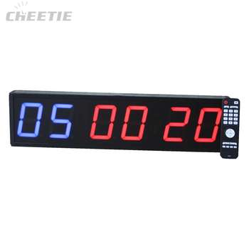 Drop Shipping Fitness Training Led Interval Workout Digital Crossfit Clock Wholesale