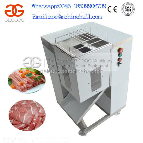 Meat Processing Machine/Meat Sliced Machine/Cooked Chicken Meat Cube Cutter Machine