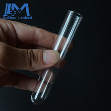 High transparent 16mm*150mm pyrex glass tube for lab test