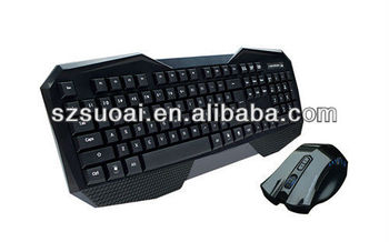 tablet pc multimedia wireless mouse and keyboard combo