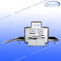 Airport Cargo Luggage X Ray Baggage Scanner With Big Tunnel Size 100*100cm