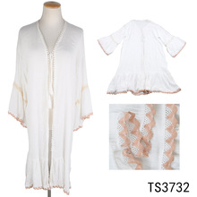 TOROS Latest Fashion full sexy summer beach dress shawl cotton long beach dress