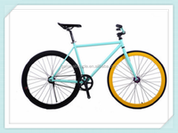 Strong 700C fixed gear bike made in China professinal factory fixie bike with fat tube alibaba china