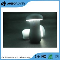 New Mushroom Powerful Led Torch Light Portable Power Bank