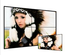 Asianda New ! 46inch double DVI , RJ45 ,RS232 ,USB update lcd video wall price
