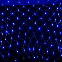 Newest promotional Christmas peacock net light