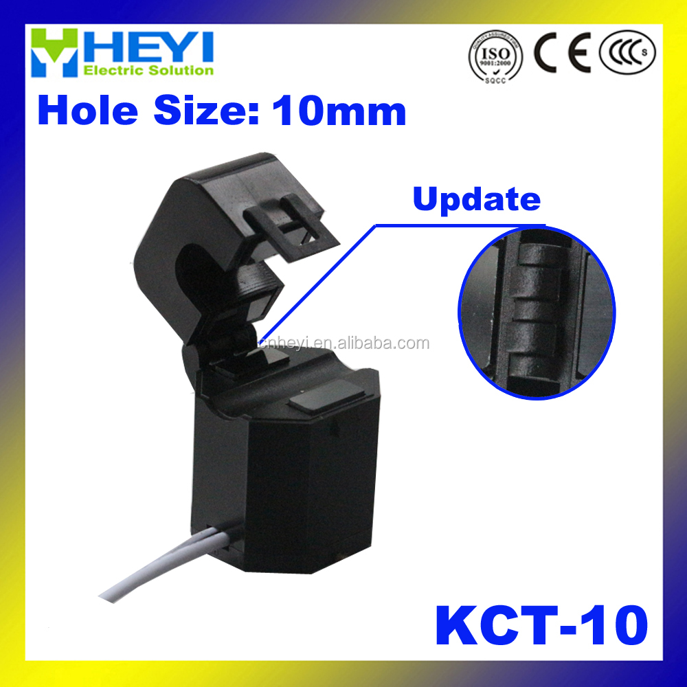 Hinged type Split Core Current Transformer KCT-10 clamp on CT