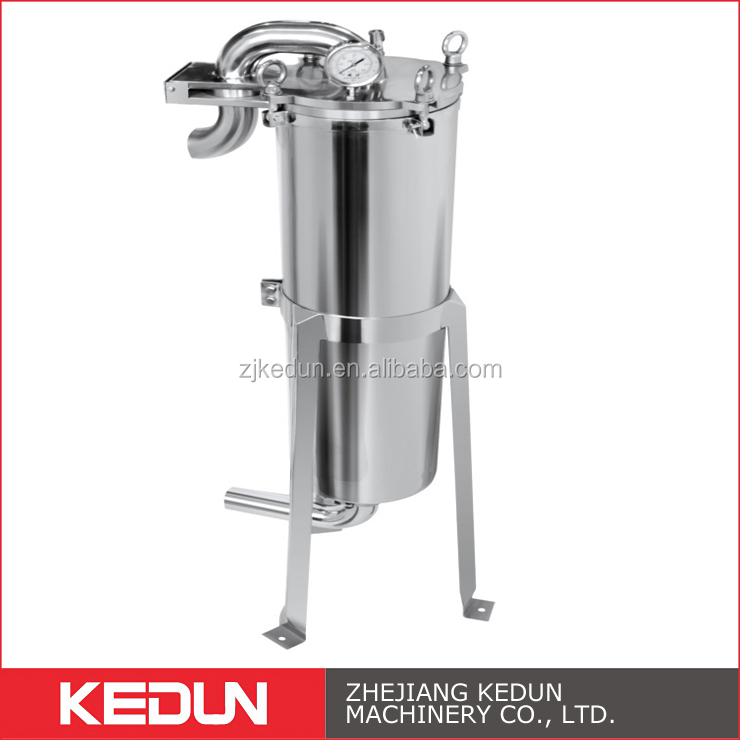 ss sanitary food grade syrup filter housing
