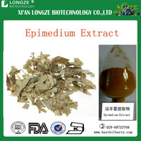 Horny Goat Weed/ Epimedium Extract- Icariin 40% - 98% with free sample for sale