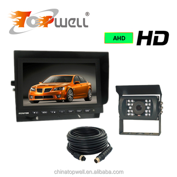 Factory Price Car Reversing System 9 inch AHD Digital Monitor IP68 Rear View Camera Kit