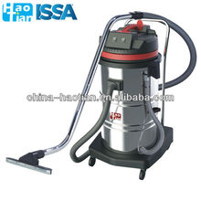 HT80-2 HaoTian 80L Two-motor industrial stainless steel wet and dry vacuum cleaner