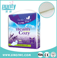 Newest patterns Disposable cotton maternity sanitary pad