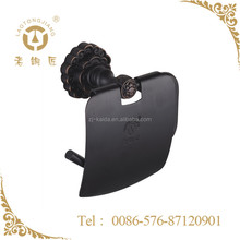 Oil Rubbed Bronze Effect Brass Toilet Paper Holder
