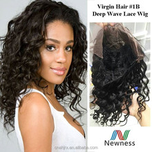 Distributor Wholesale China Top Ten Selling Hair virgin brazilian kinky curly full lace wig
