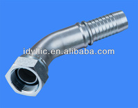Metric thread 24 degree Rubber hose fitting